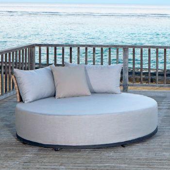 Windsor Rattan Daybed Sofa Garden Furniture