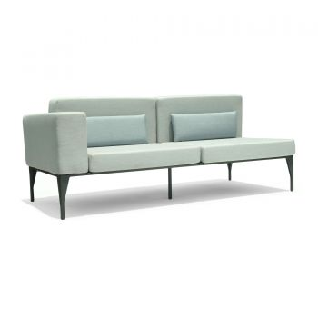 Brenham Right Love Seat Sofa Garden Furniture