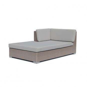 Pacific Rattan Right Chaise Lounge Garden Furniture