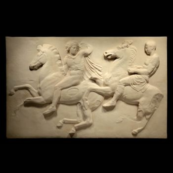 The Leaders Parthenon Marbles - Ancient Greek Wall Relief Plaque