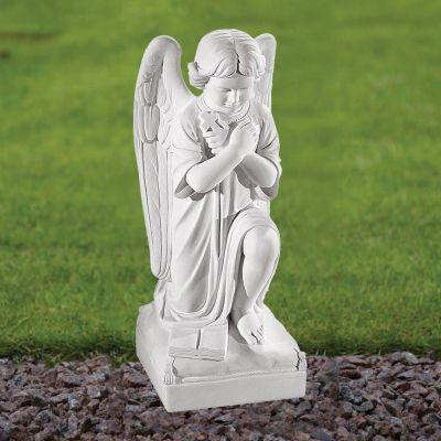 Angel Figurine 54cm Religious Statue - Marble Garden Ornament