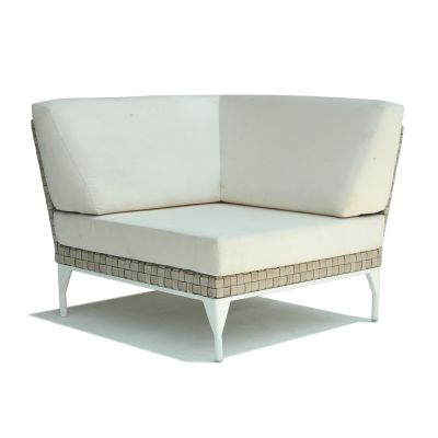 Brafta Rattan Corner Sofa Seat Garden Furniture