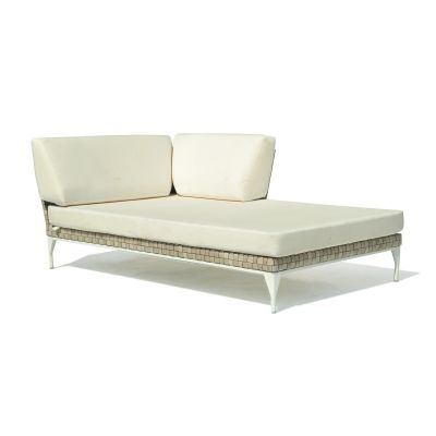 Brafta Rattan Left Chaise Lounge Garden Furniture