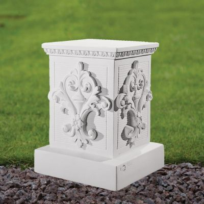 Classic 33cm Pedestal Column - Marble Statue Plinth