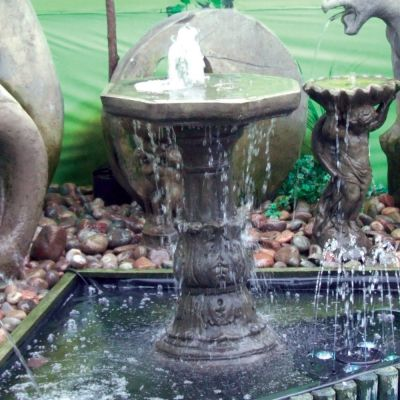 Classic Plain Bowl Fountain - Garden Water Feature