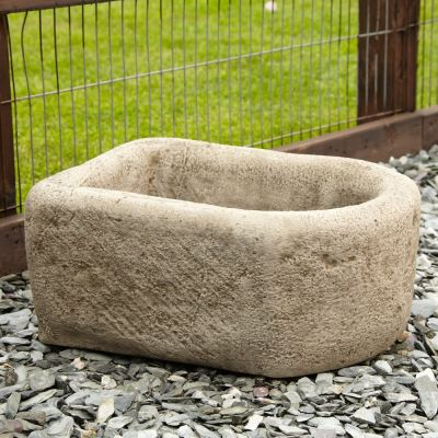 Countryside Design Stone Planter - Large Garden Trough