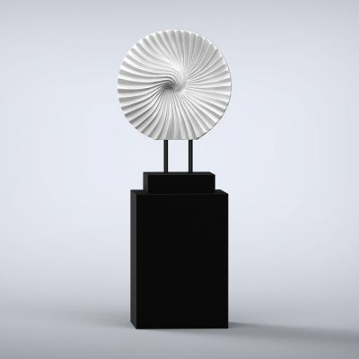 Cyclone Contemporary Sculpture - 16 Colour Options