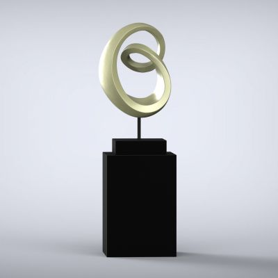 Eternity Contemporary Sculpture - 16 Colour Options
