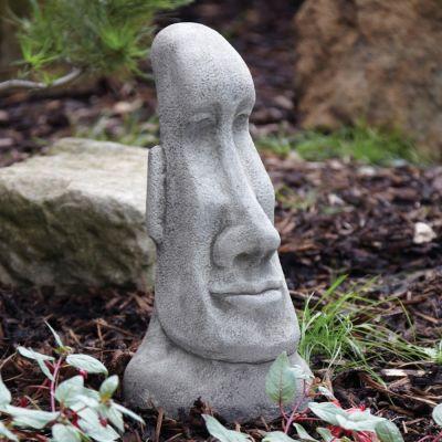 Female Head Sculpture - Large Easter Island Head Statue