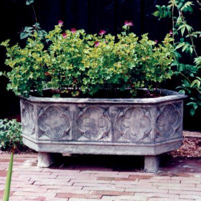 Grand Stone Plant Trough - Large Garden Trough