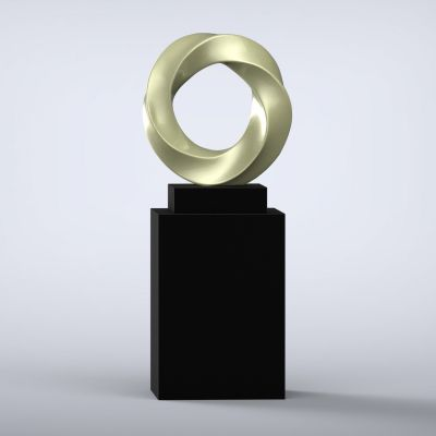 Halo Contemporary Sculpture - 16 Colour Options