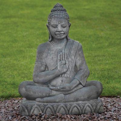 Java Stone Buddha Statue - Large Garden Ornament