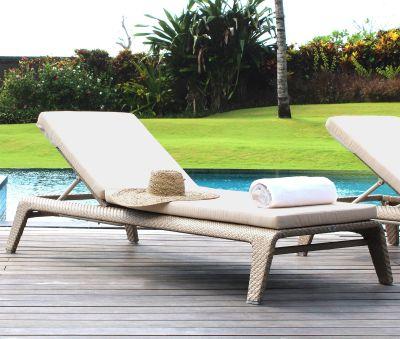 Journey Rattan Sun Lounger Garden Furniture