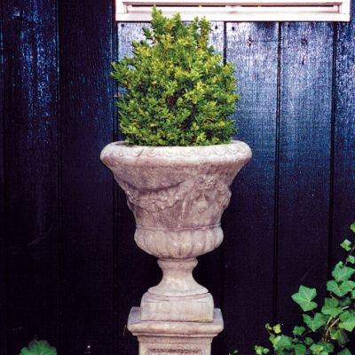 Laurel Vase Urn Stone Plant Pot - Large Garden Planter