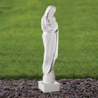 Madonna & Child 45cm Religious Sculpture - Marble Garden Statue