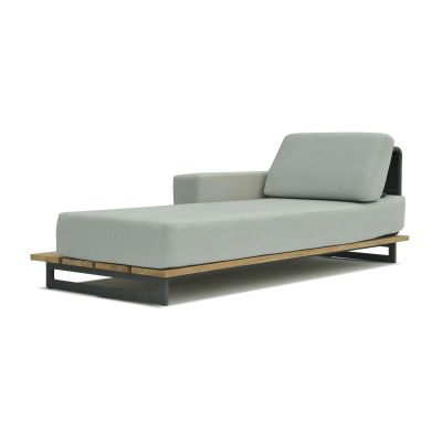 Ona Right Chaise Lounge Garden Furniture