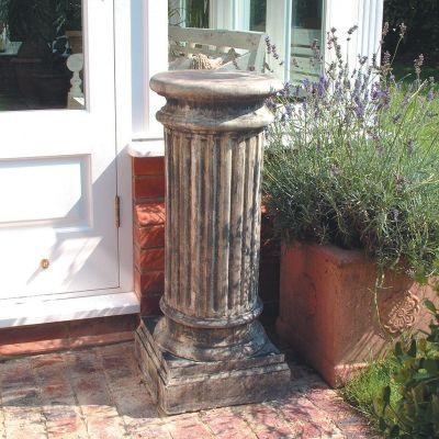 Oxford Column Pedestal - Stone Statue Plinth