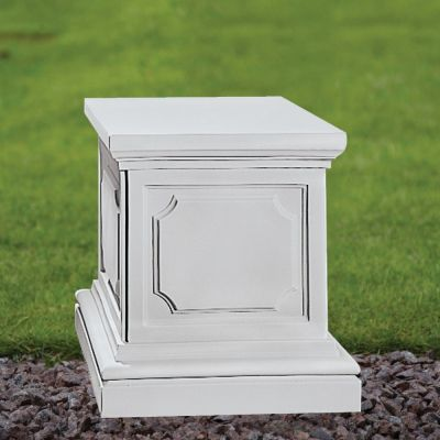 Plain 45cm Pedestal Column - Marble Statue Plinth