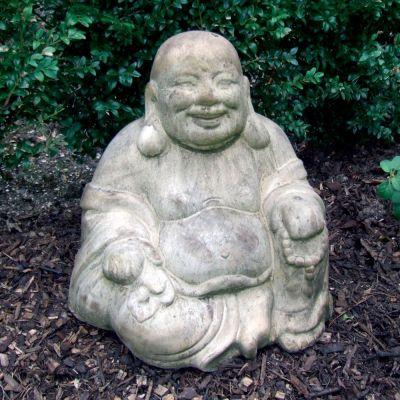 Sitting Chinese Buddha Statue - Large Garden Sculpture