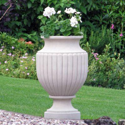 Zeus Stone Plant Vase - Large Garden Planter