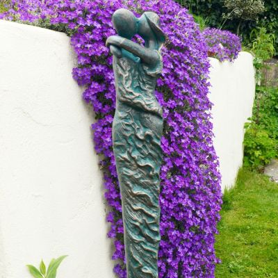 Antique Bronze Forever Love Modern Statue - 63cm Garden Sculpture
