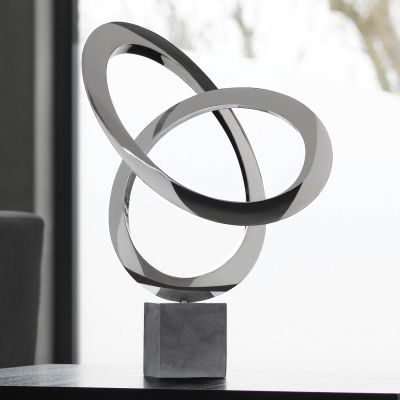 Cosmos Metal Sculpture - Indoor Contemporary Art Statue