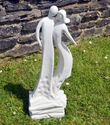 First Love Modern Garden Statue - Large Contemporary Sculpture