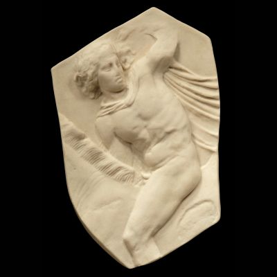 Nude Horseman Parthenon Marbles - Ancient Greek Wall Relief Plaque