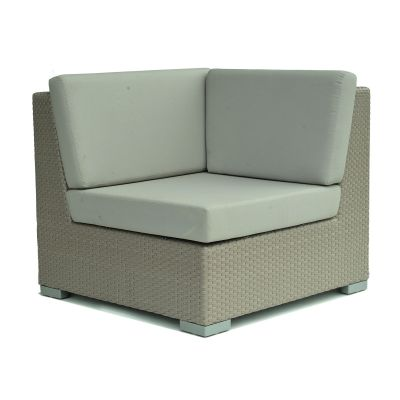 Pacific Rattan Corner Sofa Seat Garden Furniture