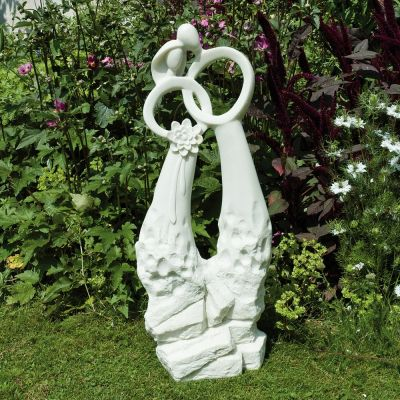 The Wedding Modern Garden Statue - Large Contemporary Sculpture