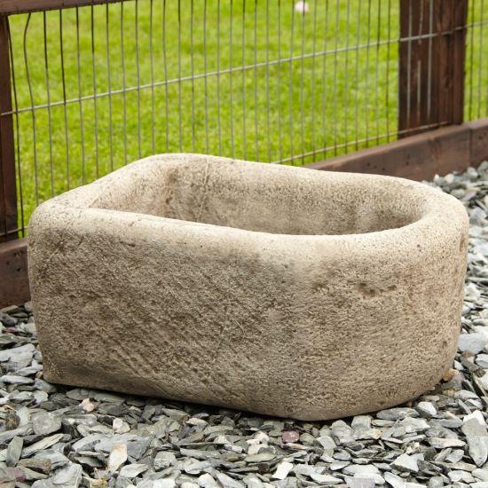 Countryside Design Stone Planter - Large Garden Trough