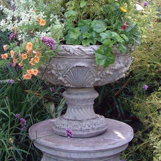 Flemish Vase Stone Plant Pot - Large Garden Planter