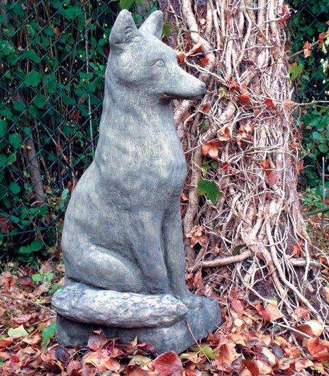 Fox Animal Sculpture - Large Garden Statue