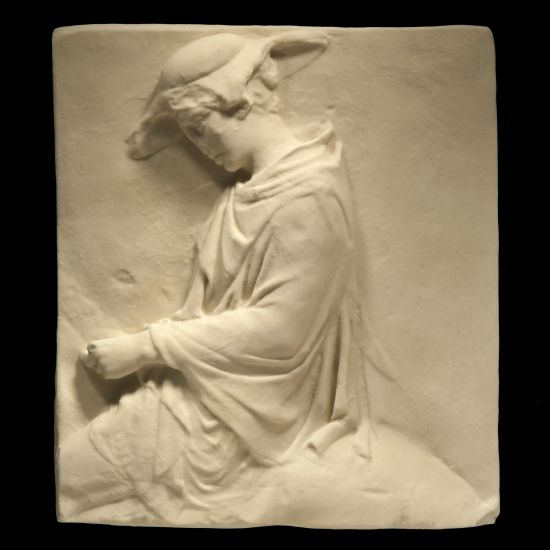 Hatted Horseman Parthenon Marbles - Ancient Greek Wall Relief Plaque