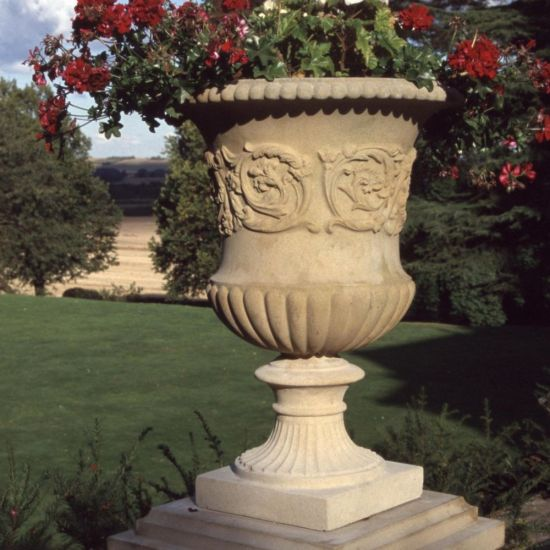 Montpellier Stone Vase Planter - Large Garden Vases