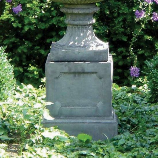 Regency Column Pedestal - Stone Statue Plinth