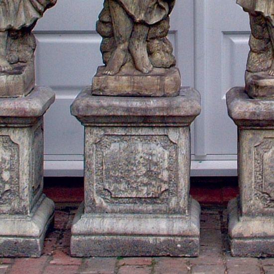 Roman Column Pedestal - Stone Statue Plinth