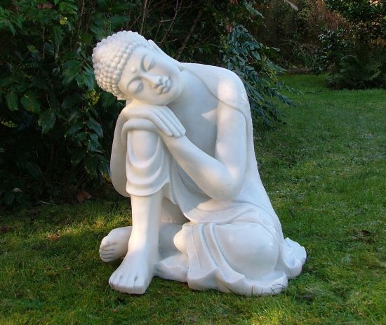 Sleeping Buddha Statue - Garden Ornament Sculpture