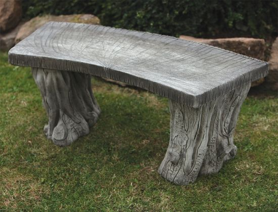 Woodlands Design Stone Bench - Large Garden Benches
