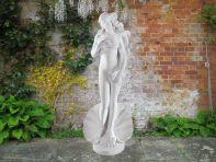 Birth of Venus 43cm Greek Garden Sculpture - Large Marble Statue