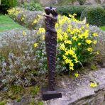 Bronze Forever Love Modern Statue - 63cm Garden Sculpture