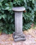 Corinthian Column Pedestal - Stone Statue Plinth