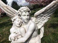 Cupid and Psyche Marble Statue - 197cm Garden Sculpture