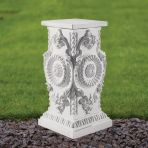 Elegance 44cm Pedestal Column - Marble Statue Plinth