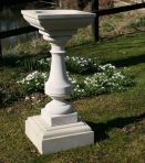 Elegance Design Stone Birdbath - Garden Bird Bath Feeders