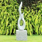 Energise Garden Sculpture Modern Stone Statue