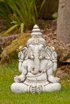Ganesh Stone Buddha Statue - Large Garden Ornament