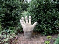 Giant Right Hand Stone Statue - Large Garden Sculpture