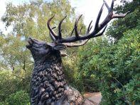 Extra Large Metal Stag Deer Bronze Garden Statue