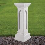 Gothic 69cm Pedestal Column - Marble Statue Plinth